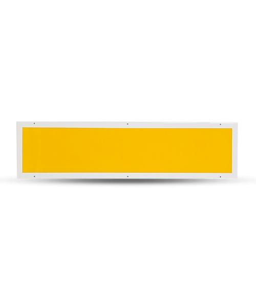 LED防紫外线黄光平板净化灯